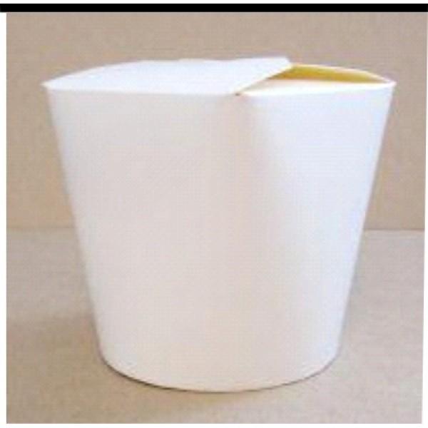 Стакан-коробка (стакан вырубной со складывающимся верхом) для мороженого картонный