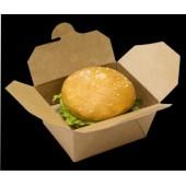 Коробка универсальная для блюд на вынос крафт 800мл