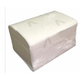 Салфетки для диспенсера  2 сл. белые V-сложение