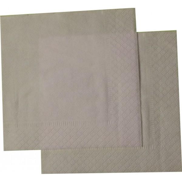 Салфетки сервировочные  1 сл. белые 24х24