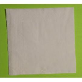 Салфетки сервировочные  2 сл. белые 24х24
