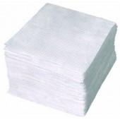 Салфетки бумажные 100 листов белые 24х24