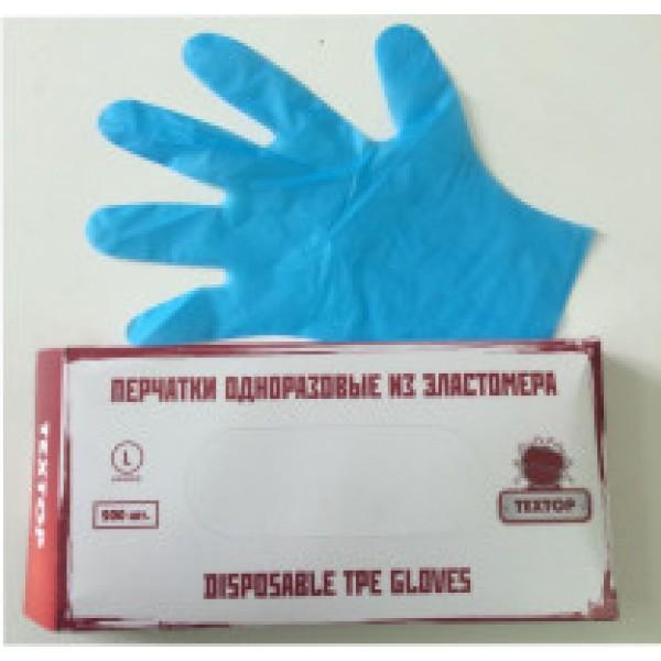 Одноразовые перчатки ТПЕ  1 упаковка