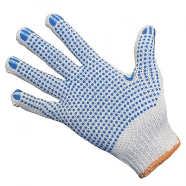 Перчатки ХБ с нанесением ПВХ