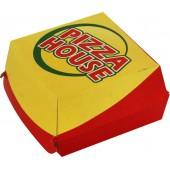 Коробка для бургера бумажная с Вашим логотипом