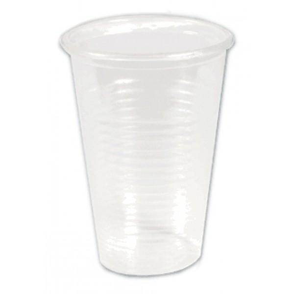 Стакан одноразовый пластиковый 200мл прозрачн