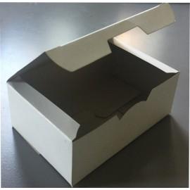Коробка для картофеля фри картон  закрывающаяся без рис