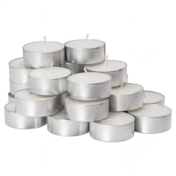 Свечи чайные D 38 в гильзах