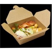 Коробка универсальная ланчбокс для блюд на вынос крафт 950мл BB