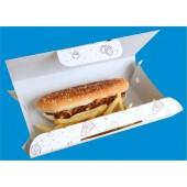 Упаковка бумажная (картонная) коробка бокс для еды на вынос