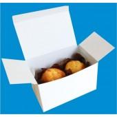 Упаковка бумажная (картонная) коробка для маффинов 160х100х100 мм