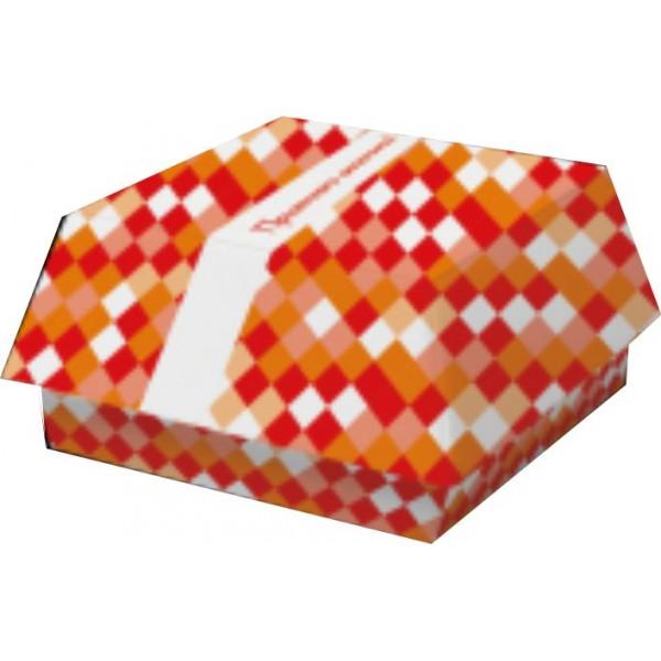 Тарелка стакан  и упаковка бумажная коллекция (набор) Фастфуд