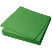 Салфетки бумажные 20 листов 2х слойные, разные цвета 33х33