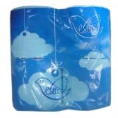 Туалетная бумага двухслойная Лотти 4 рулона/уп