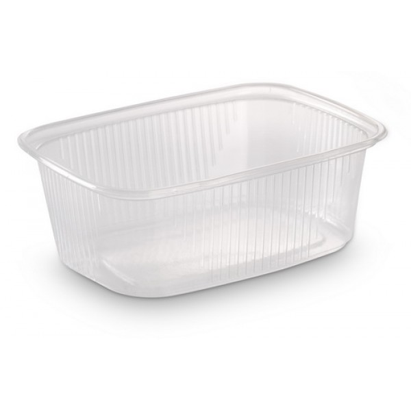 Контейнер пищевой 200мл прозрачный ПП 108х82