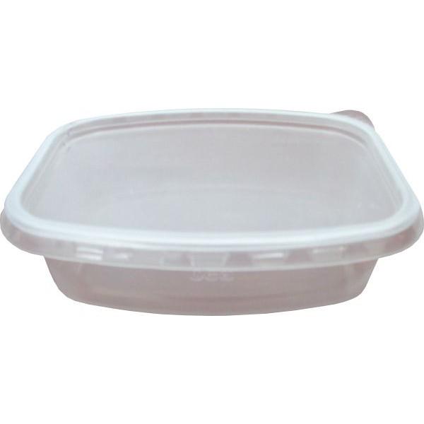 Контейнер пищевой 350мл прозрачный ПП 138х102 с крышкой