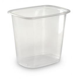 Контейнер пищевой 500мл прозрачный ПП 108х82