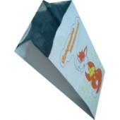 Пакет с V-образным дном фольгированный с рисунком