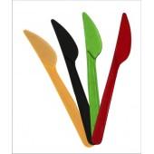 Нож одноразовый кристалл цветной
