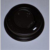 Крышка тёмная для стакана диаметром 80мм