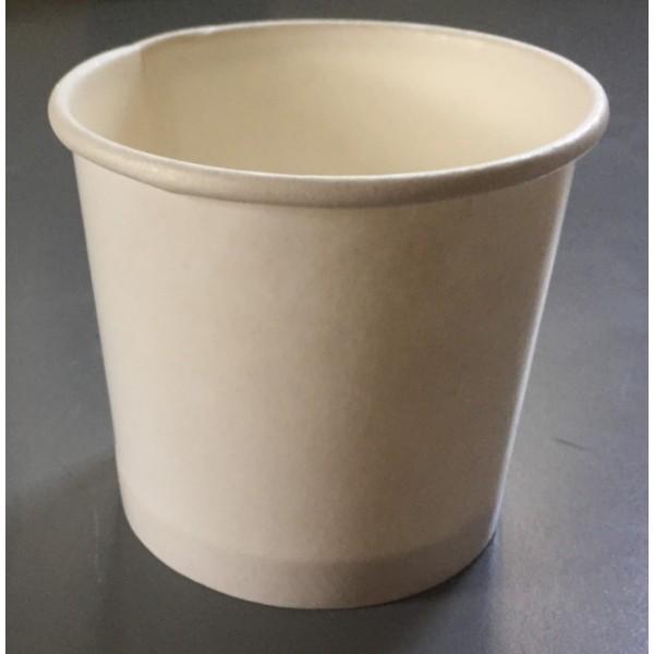 Стаканчик для мороженого бумажный 140 мл