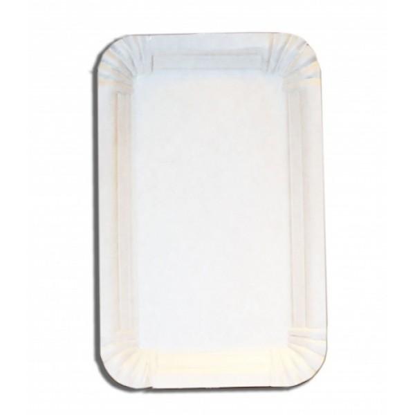 Тарелка картонная 11х17 см