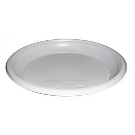 Тарелка пластиковая 205 мм безсекционная