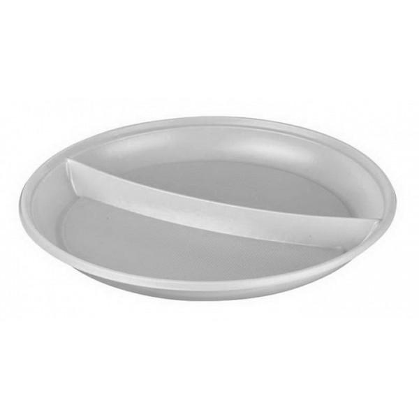 Тарелка пластиковая 210 мм 3х-секционная