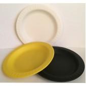 Тарелка 180 мм цветная биоразлагаемая