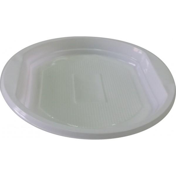 Тарелка десертная ПП 170 мм прозрачная