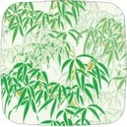 Тарелка бумажная квадратная 175*175 бамбук