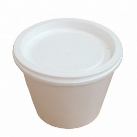 Тарелка для супа (миска) термо 250 мл ВПС (вспенка)